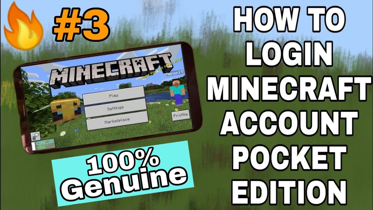 How To Make Minecraft Account V1.16.20.50 In Phone | 100% Working Tutorial Live | In Hindi.