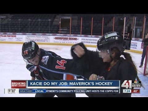 Kacie Do My Job: Missouri Mavericks hockey