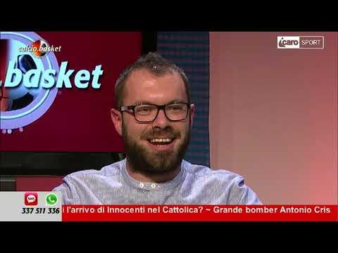 Icaro Sport. Calcio.Basket del 6 novembre 2017 - 2a parte