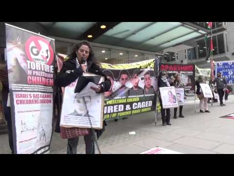 Palestinian Prisoners Day London - Msg from father of child prisoner Khaled Sheikh [Inminds.com]