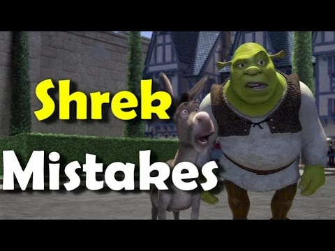 SHREK MOVIE MISTAKES, MOVIE MISTAKES, Facts, Scenes and Fails