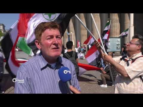 الأحوازيون يتظاهرون في المانيا بذكرى إحتلال بلادهم  - 11:20-2018 / 4 / 21