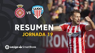 Resumen de Girona FC vs CD Lugo (3-1)