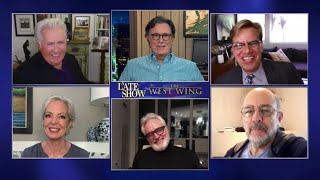 The Most Epic Drama To Ever Occupy The White House - The West Wing Cast Takes Over A Late Show