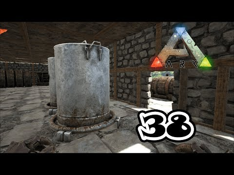 Ep 38: Industrial Cooker and a Piping Experiment! (Ark: Survival Evolved)
