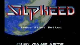 Silpheed (Sega CD) - Introduction