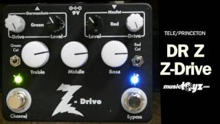 Dr Z Drive Overdrive Guitar Pedal