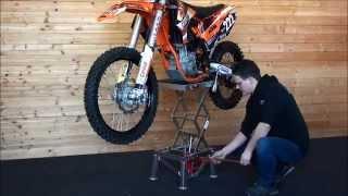 Motorrad hebeb hne selber bauen - Tablet wandhalterung selber bauen ...
