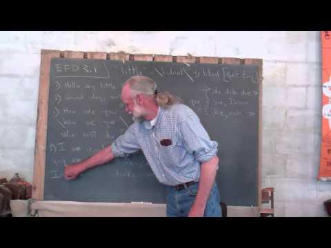 EFD 3.1 Ein Hahn lehrt mit Frank