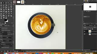 Gimp: knippen, plakken & verplaatsen screenshot 1