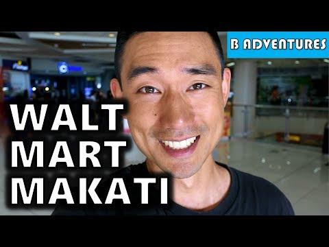 Walter Mart & Pizza Hut Makati Manila Philippines S4, Vlog 92