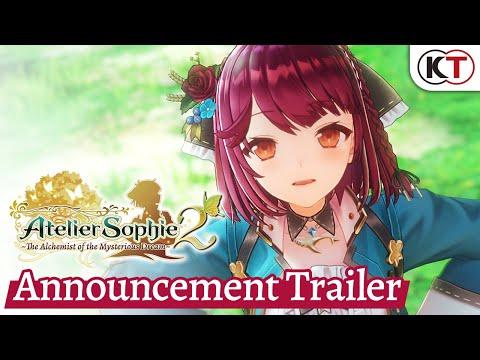 Atelier Sophie 2: The Alchemist of the Mysterious Dream - Announcement Trailer