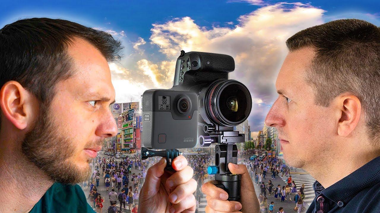 360 Camera Photographer vs. Pro DSLR Photographer