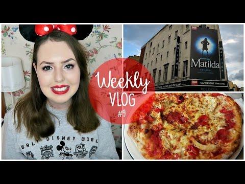 Weekly Vlog #9   Matilda, Pizza & Stress