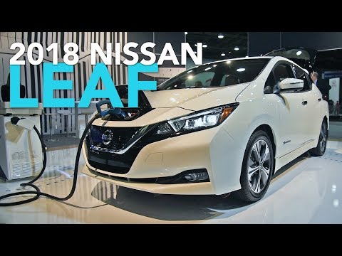 2018 Nissan Leaf First Look