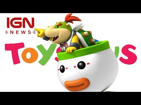 Bowser Jr. Amiibo Is A Toys R Us Exclusive - IGN News