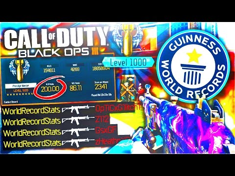BLACK OPS 3 WORLDS HIGHEST STATS! - CALL OF DUTY BO3 MULTIPLAYER GAMEPLAY WORLDS BEST K/D RATIO BO3!