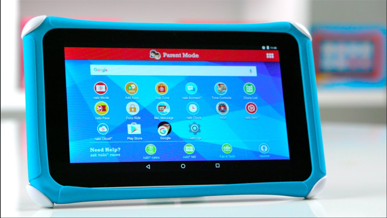 Nabi Tablet How To Perform A Factory Reset Youtube