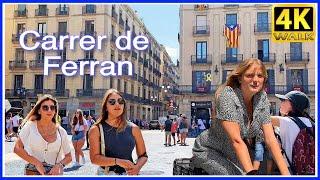 【4K】WALK BARCELONA CITY Catalonia SPAIN 4K video TRAVEL vlog