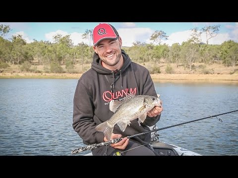 Australian Bass on Soft Plastics!