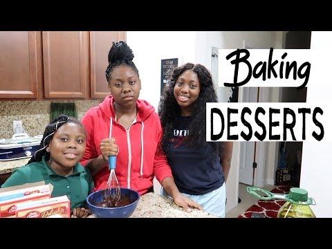 The Girls Baked Dessert After Dinner | Family Vlogs | JaVlogs