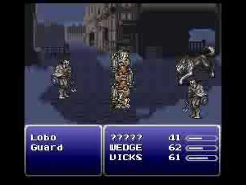 <b>Final Fantasy 3</b> Snes Cheats Begining to leaving Figaro castle Part ...