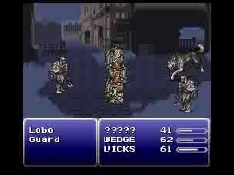 Final Fantasy VI GameShark Codes FunnyDogTV