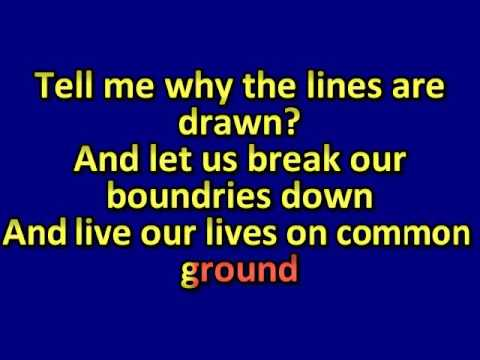 Karaoke-Gino Vannelli -Brother To Brother