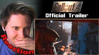 Fallout 4 - Official Trailer REACTION!!! | MY GAMER HEART IS POUNDING! |