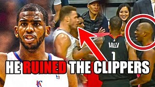How Chris Paul RUINED The Clippers (Ft. NBA Fights, Blake Griffin, Bad Teammates, And The Rivers)
