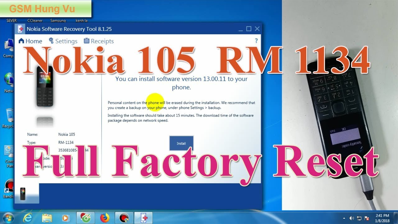 6.3.56 SOFTWARE TOOL NOKIA TÉLÉCHARGER RECOVERY