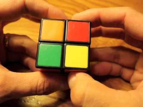 Rubik's Cube 2x2 Storytelling Method for Kids