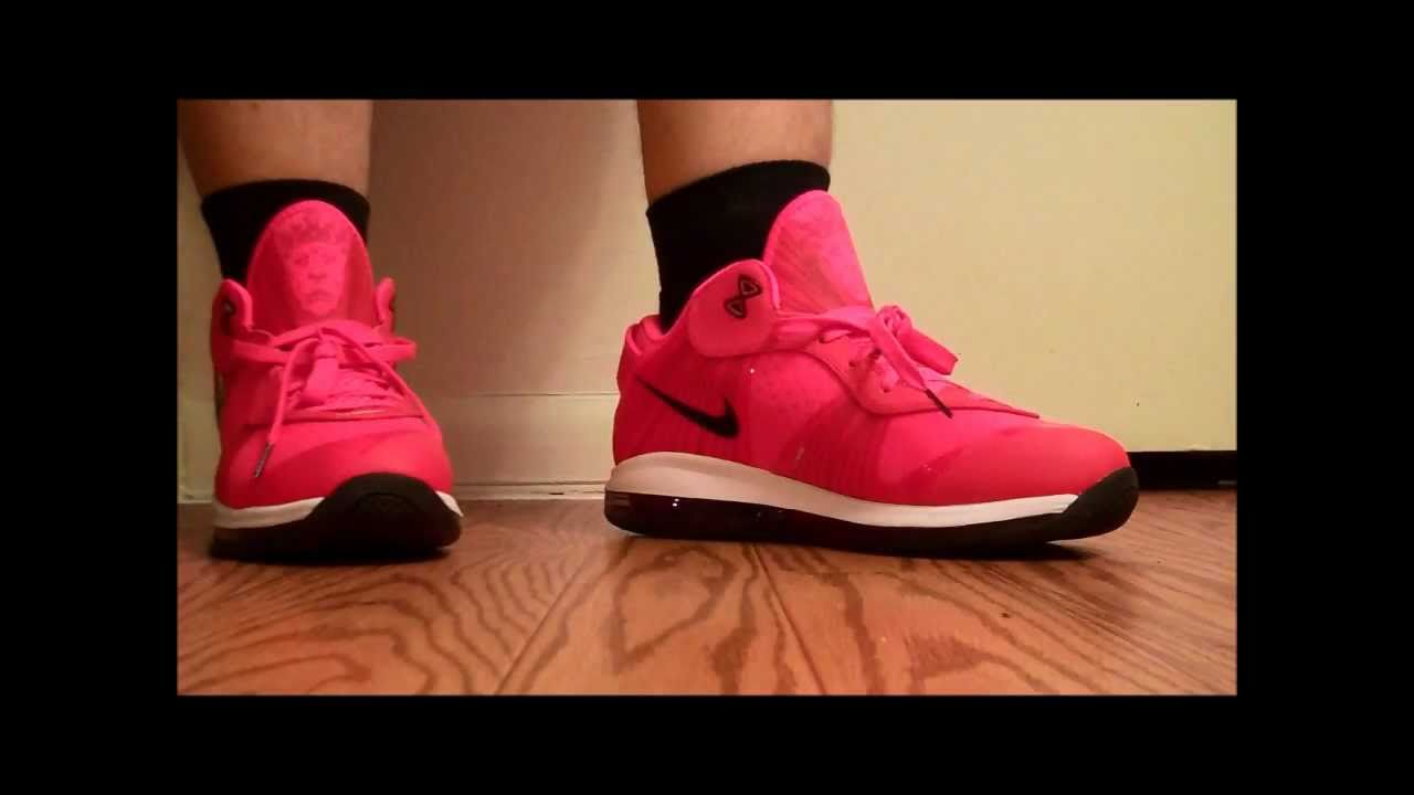 best service 7f041 e8b50 Lebron 8 v2 Low Solar Red Review ON THE FOOT