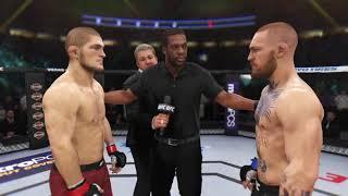 Хабиб Нурмагомедов  - Конор МакГрегор  UFC 3 (PS4)