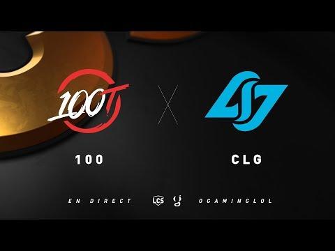 LCS Spring 2019 - 100 vs CLG - W3D2