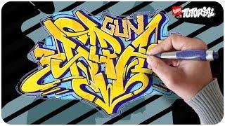 Alpa Gun - Graffiti Tutorial - Schritt für Schritt