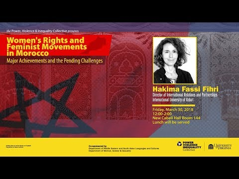 Hakima Fassi Fihri—Women's Rights and Feminist Movements in Morocco