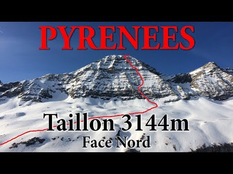 Pyrénées - Face Nord du Taillon 3144m