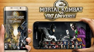Mortal Combat vs Dc Universe Download Game on your android