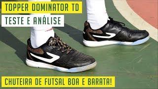 e94b956c12 TOPPER DOMINATOR TD - CHUTEIRA DE FUTSAL BOA E BARATA! 💰 - TESTE E ANÁLISE