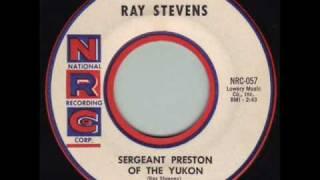 Ray Stevens - Sergeant Preston of the Yukon 1959 45rpm