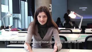 MEF Üniversitesi Sanat Tasarım ve Mimarlık Fakültesi Tanıtım Filmi