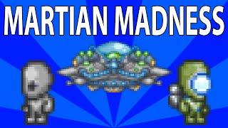 Poradnik Terraria 1.3 - Martian Madness Event - Inwazja obcych