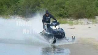 Native Boys And Their Toys - 2010 Snowmobile Watercross Part 2