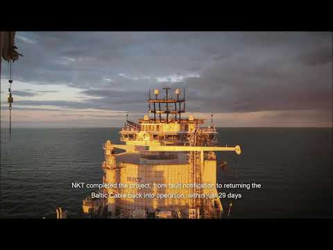 Baltic Cable – Repair of a submarine cable system in just 29 days