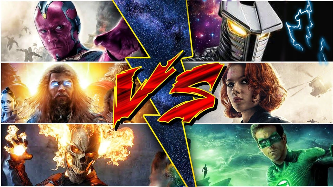 Black Widow is Worthy? Endgame Thor Vs Civil war Vision (Sunday with Superbattle)
