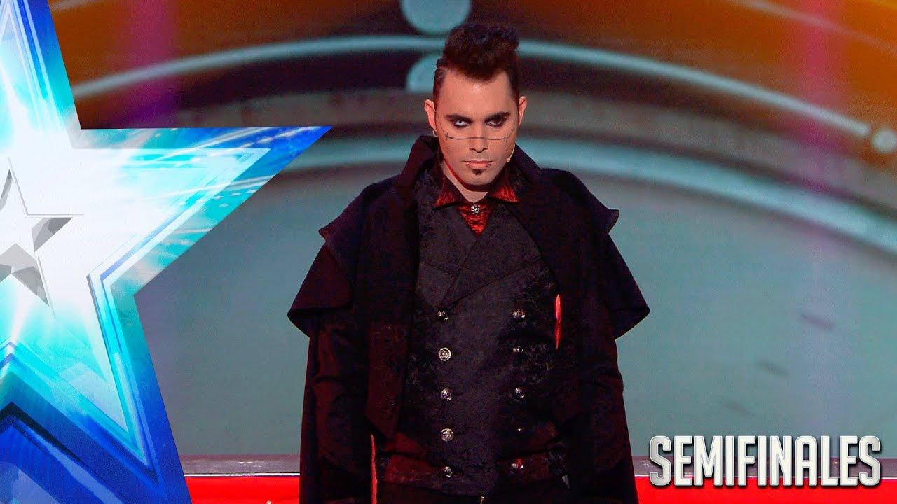Las segundas oportunidades existen. Acheron pasa a la Final   Semifinales 3   Got Talent España 2017