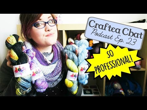 Craftea Chat Podcast Ep. 23: It's So Real! ¦ The Corner of Craft