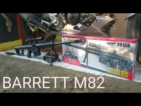 Airsoftgun BARRETT M82 DONGYING 2016B MADE IN CHINA BY MAZRITOYS #AGEGLADI