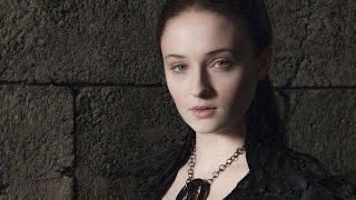 "Game of Thrones - Sophie Turner (""Sansa Stark"") Season 5 Interview - Comic Con 2014"